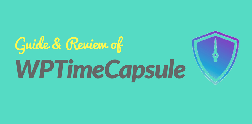How To Create Automatic WordPress Backups For Free With WP Time Capsule