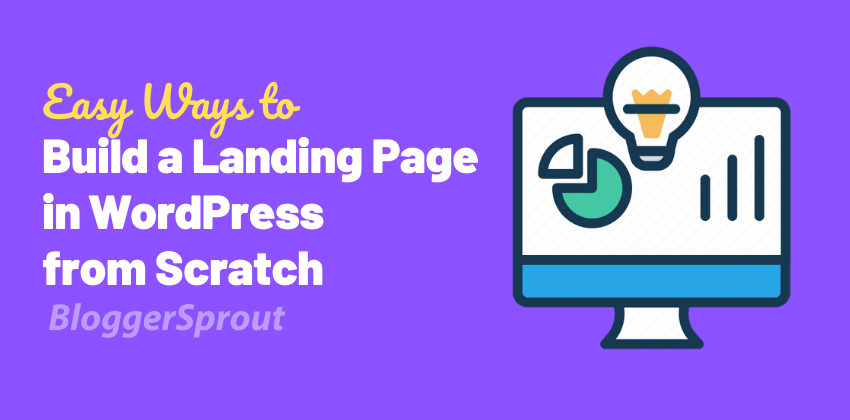 Landing-Page-in-WordPress-BloggerSprout.com