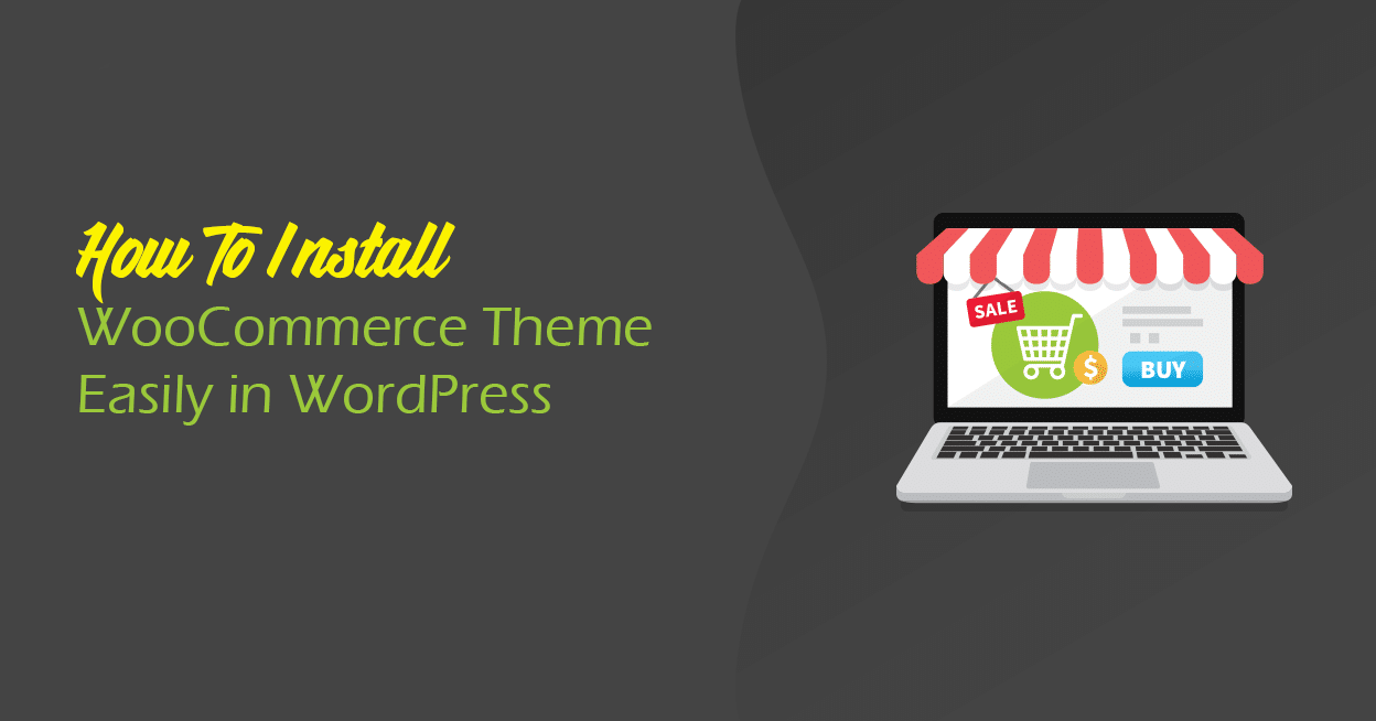 install woocommerce theme in wordpress