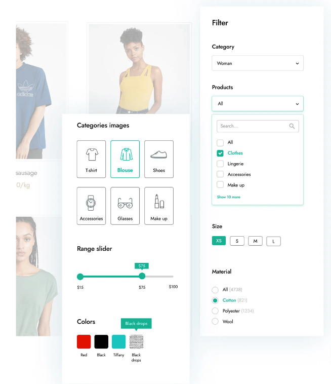 how to filter woocommerce products by custom attribute