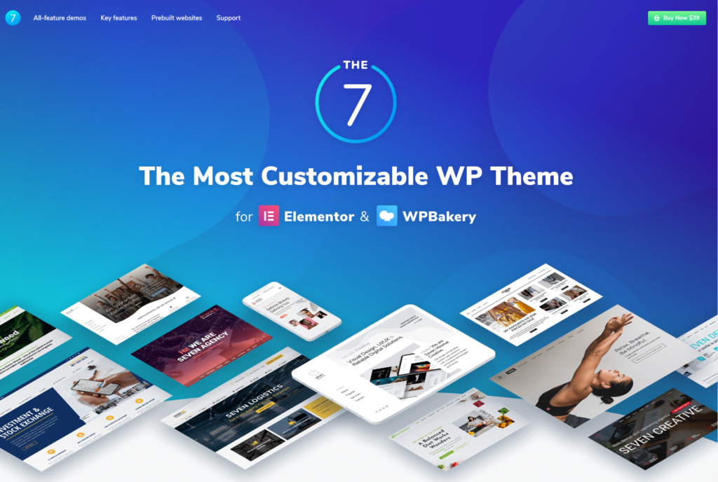 business theme The7-The-Most-Customizable-Theme-on-the-Market-